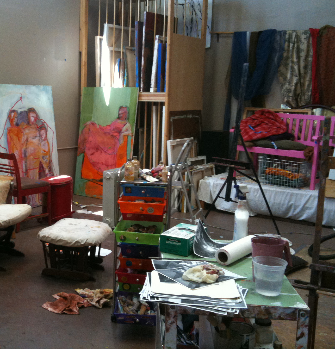 Barbara Downs studio