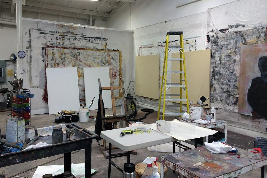 the studio of Barbara Downs