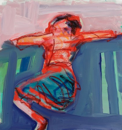 Original artwork by Barbara Downs, Repose (II), Oil on Canvas