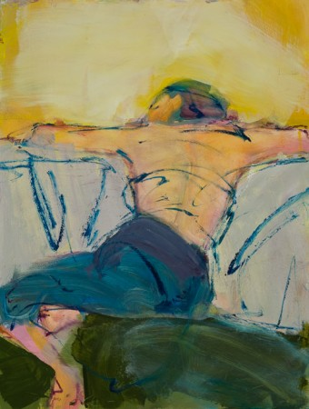 Original artwork by Barbara Downs, Repose (I), Oil on Panel