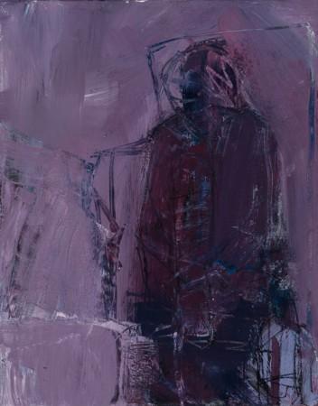 Original artwork by Barbara Downs, The Loner, 2011