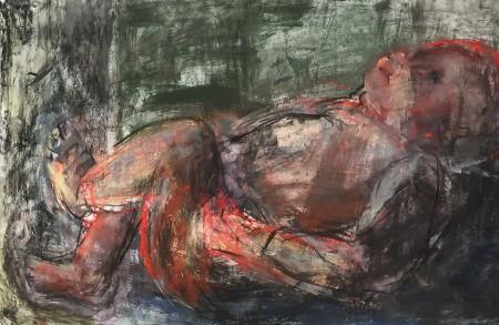original artwork by Barbara Downs, Untitled Drawing, 2014