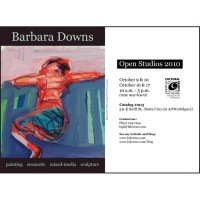 Barbara Downs announcement for Open Studios 2010