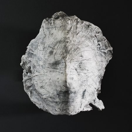 original artwork by Barbara Downs, Artifacts (III), Plaster and Mixed-Media