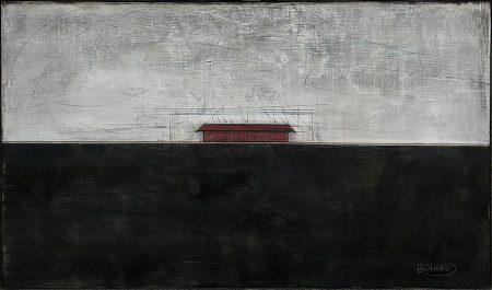 original artwork by Barbara Downs, Stark-Barn, 2018