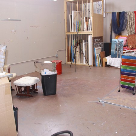 Barbara Downs studio AFTER cleaning