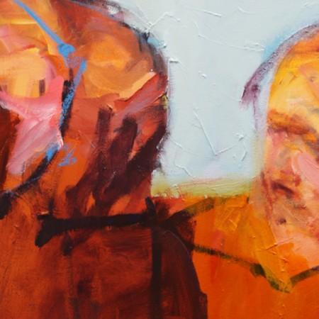 Barbara Downs painting detail