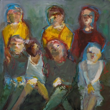 Original artwork by Barbara Downs, Nice Girls