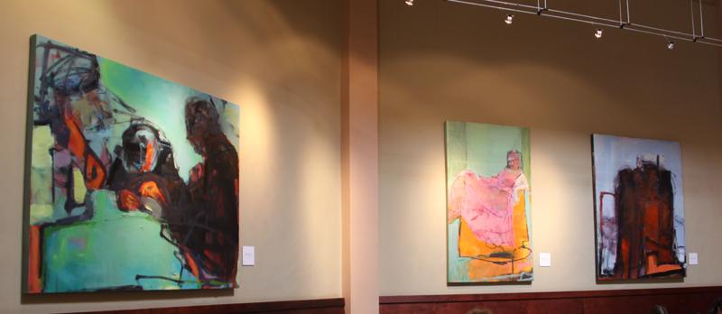 Barbara Downs exhibition at Lulu Carpenters