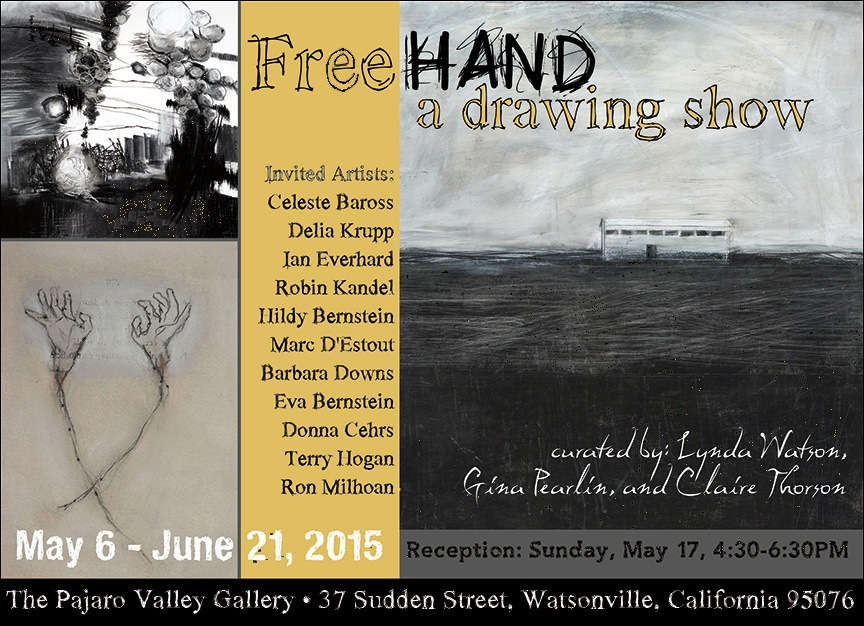 Barbara Downs Postcard for Freehand: A Drawing Show