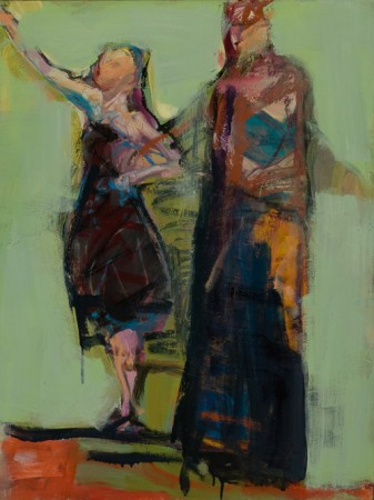 Original artwork by Barbara Downs, The Glass Slipper, 2010