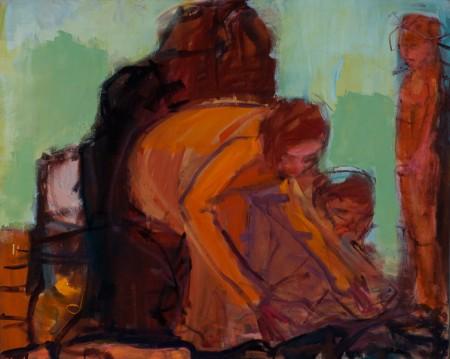 Original artwork by Barbara Downs, Witness and Saviour, 2010