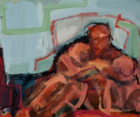 Original artwork by Barbara Downs, The Last Together, 2010