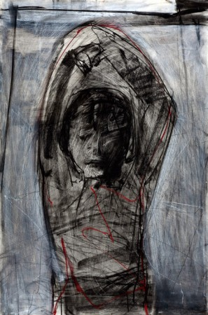 Original artwork by Barbara Downs, The Agony of Enlightenment, 2010