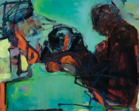 Original artwork by Barbara Downs, The Seamstress, 2011