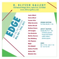 Barbara Downs announcement for Edge exhibition