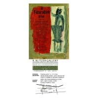 Barbara Downs announcement for A Figurative Affair 2012 exhibition
