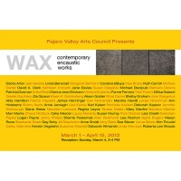 Barbara Downs announcement for Wax exhibition
