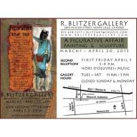 Barbara Downs announcement for A Figurative Affair 2013 exhibition