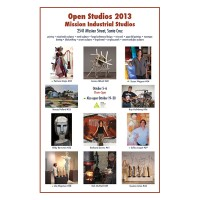 Barbara Downs announcement for Open Studios 2013 exhibition