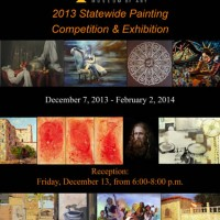 Barbara Downs announcement for Triton Statewide Painting exhibition