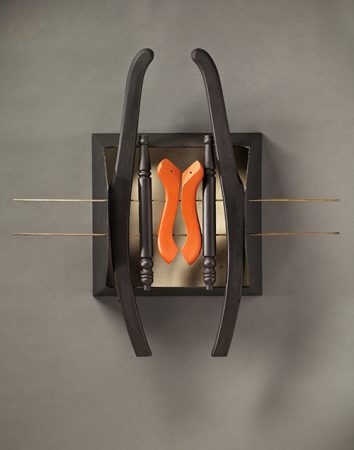 original artwork by Barbara Downs, Abacus Chair, 2013