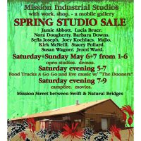 Spring Studio Sale announcement
